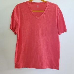 Men's CK size L cotton v-neck short sleeve